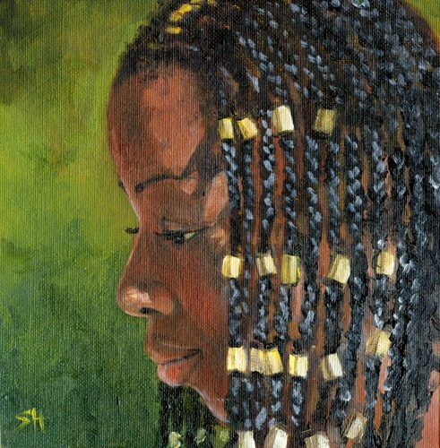 """Latoria"" original fine art by Sandy Haynes"