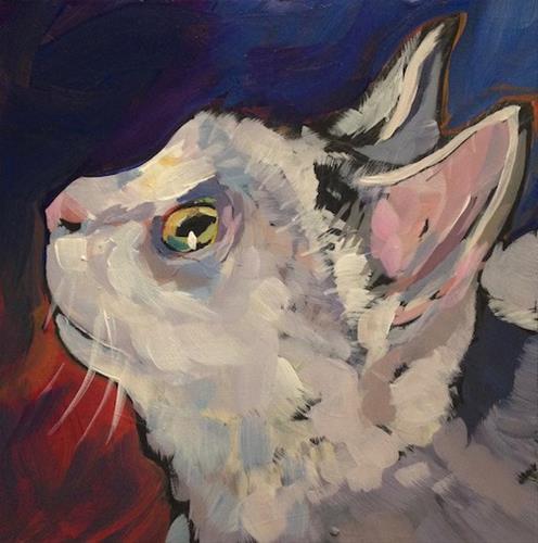 """March 3, Saul"" original fine art by Kat Corrigan"