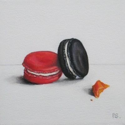 """The Black Macaroon III"" original fine art by Pera Schillings"