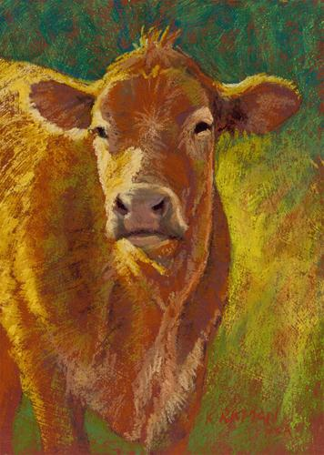 """Sunny"" original fine art by Rita Kirkman"