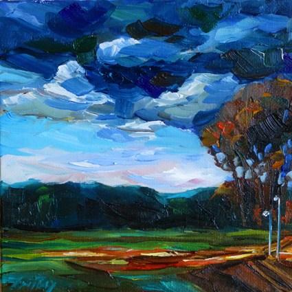 """April"" original fine art by Jurij Frey"