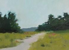 """Pale Sky"" original fine art by Pamela Munger"