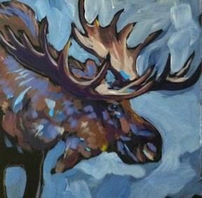 """""""Rack"""" original fine art by Kat Corrigan"""