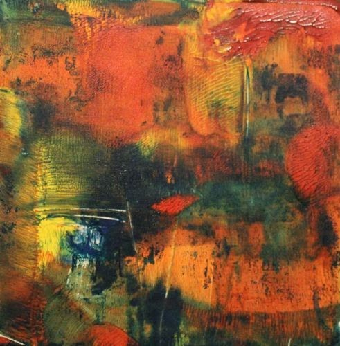 """Joy, Contemporary Monoprints by Arizona Artist Amy Whitehouse"" original fine art by Amy Whitehouse"