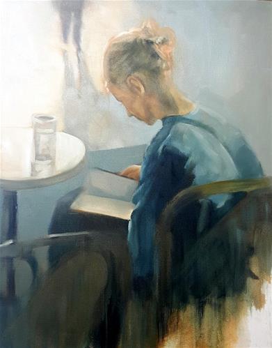 """Quiet time"" original fine art by Rentia Coetzee"
