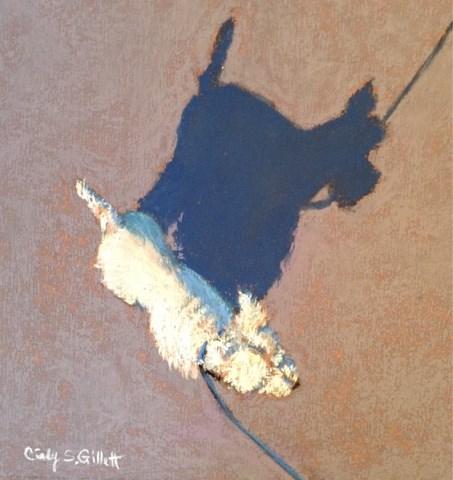 """""""Little Buddy"""" original fine art by Cindy Gillett"""