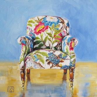 """blue sky"" original fine art by Kimberly Applegate"