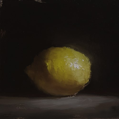 """Bright Lemon"" original fine art by Neil Carroll"