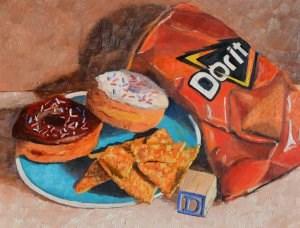 """D is for ..."" original fine art by Robert Frankis"