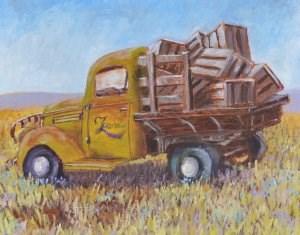 """Ready for Retirement"" original fine art by Robert Frankis"