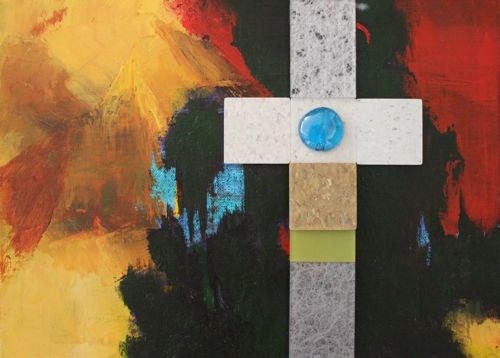 """The Cross Covers All, Abstract Paintings by Arizona Artist Amy Whitehouse"" original fine art by Amy Whitehouse"