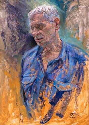 """Renaissance Man"" original fine art by Dimitriy Gritsenko"