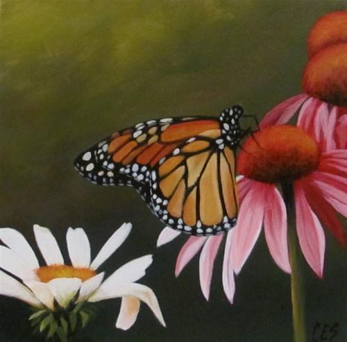 """""""Fairy of the Garden"""" original fine art by ~ces~ Christine E. S. Code"""