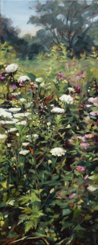 """Oil Painting: Meadow"" original fine art by Deb Anderson"