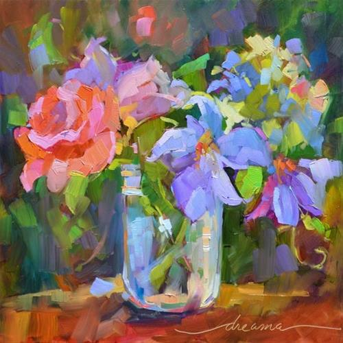 """""""Color Glory"""" original fine art by Dreama Tolle Perry"""