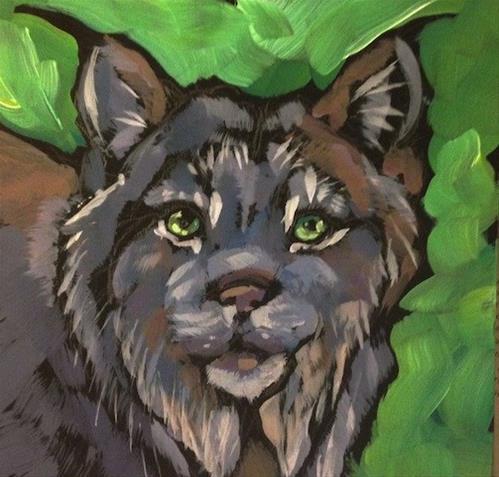 """Minnesota Lynx"" original fine art by Kat Corrigan"