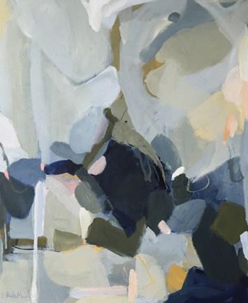 """River Rock"" original fine art by Pamela Munger"
