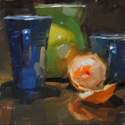 """Assortment"" original fine art by Carol Marine"