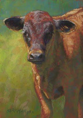 """Dusk"" original fine art by Rita Kirkman"