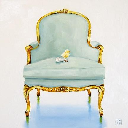 """first born"" original fine art by Kimberly Applegate"