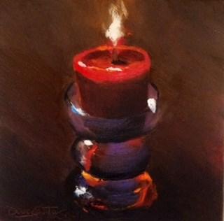 """""""LITEUP"""" original fine art by Doug Carter"""