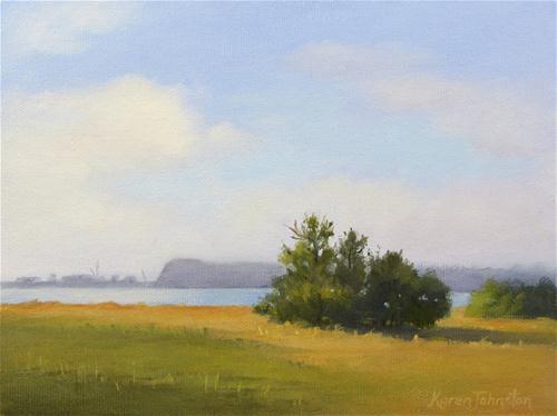 """""""Westshore Beach"""" original fine art by Karen Johnston"""