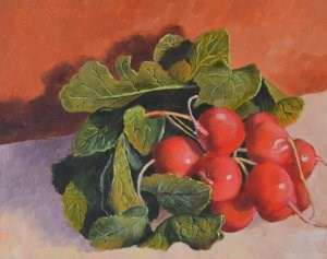 """Fresh From the Garden"" original fine art by Robert Frankis"