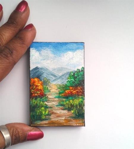 """Fall landscape"" original fine art by Camille Morgan"