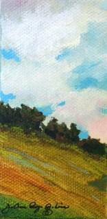 """""""The Hills are Alive..."""" original fine art by JoAnne Perez Robinson"""