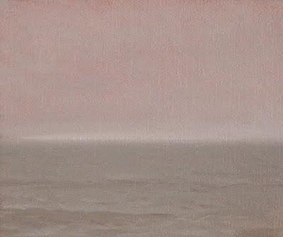 """""""Seascape in Morning Fog"""" original fine art by Abbey Ryan"""