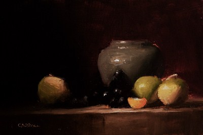 """Still Life with Turnips"" original fine art by Neil Carroll"