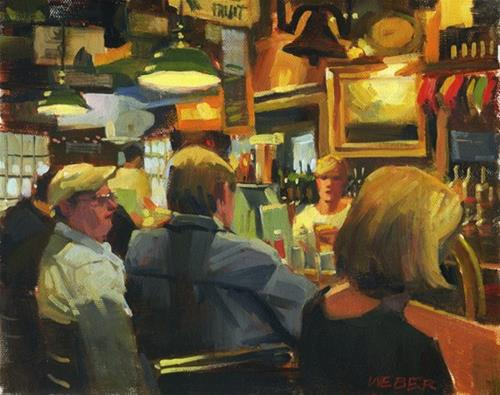 """New Gallery"" original fine art by Kathy Weber"