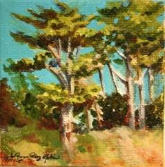 """March Wind"" original fine art by JoAnne Perez Robinson"