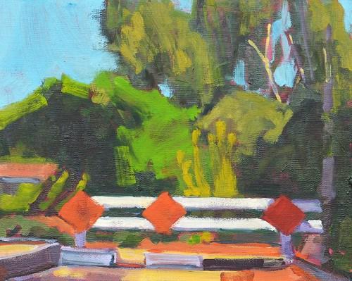 """No Parking in Hillcrest"" original fine art by Kevin Inman"