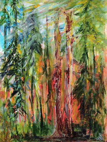 """""""3087 - Hope Springs Eternal - DUO Series"""" original fine art by Sea Dean"""