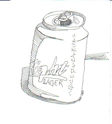 """""""Have a Beer"""" original fine art by Catherine Kauffman"""