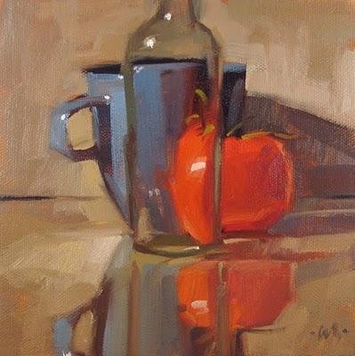 """""""Distorted View"""" original fine art by Carol Marine"""