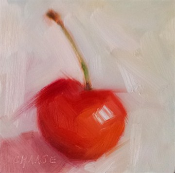 """Cherry Bomb"" original fine art by Cindy Haase"