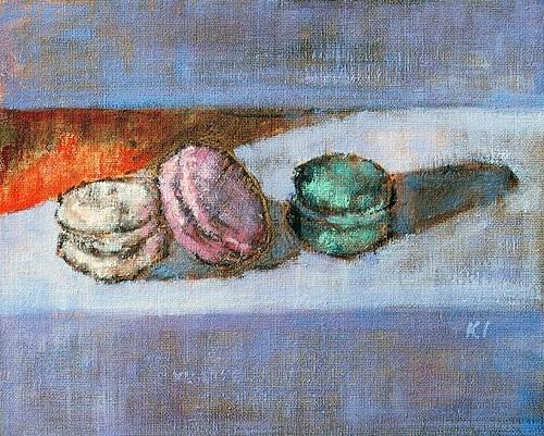 """Macarons de Paris"" original fine art by Kevin Inman"