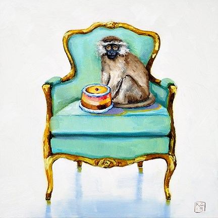 """""""and gonna eat it too"""" original fine art by Kimberly Applegate"""