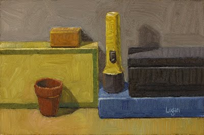 """Still Life Landscape #6"" original fine art by Raymond Logan"