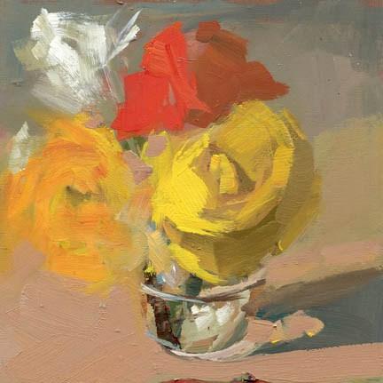 """#1006 Well Groomed"" original fine art by Lisa Daria"