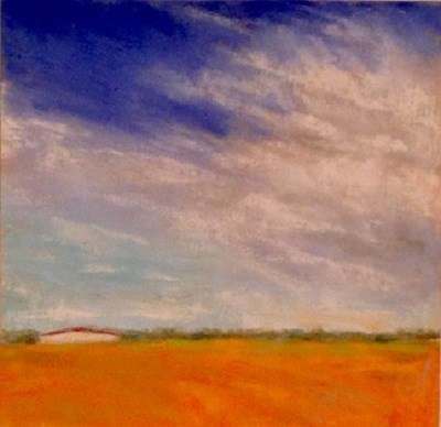 """Crook County Sky Line"" original fine art by Angeli Petrocco Coover"