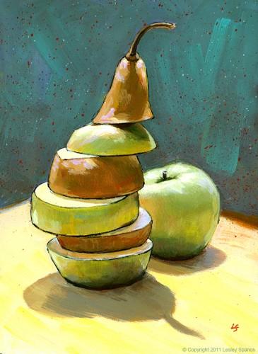 """Voyeur"" original fine art by Lesley Spanos"