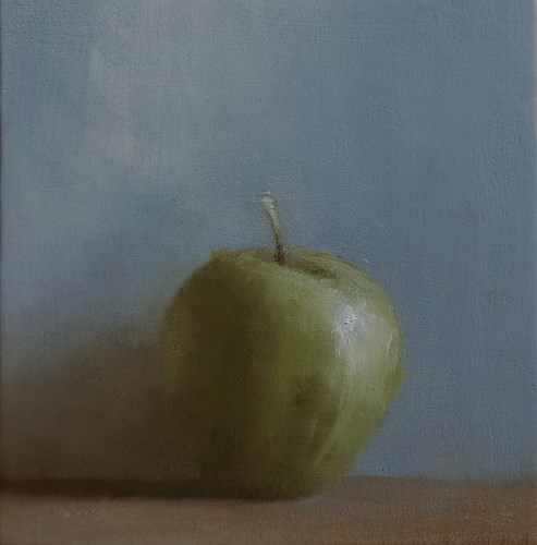 """Apple"" original fine art by Neil Carroll"