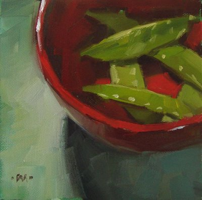 """Two Over Three"" original fine art by Carol Marine"