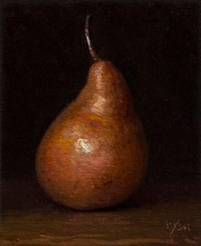 """""""Bosc Pear in Last Light  (+ my upcoming Workshops)"""" original fine art by Abbey Ryan"""