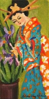 """Pretty Lady"" original fine art by JoAnne Perez Robinson"