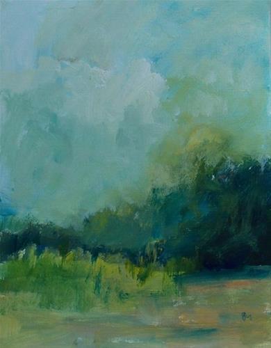 """All the Greenery VI"" original fine art by Pamela Munger"