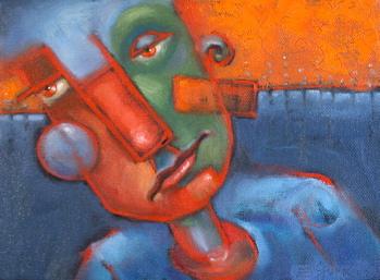 """Above And Below"" original fine art by Brenda York"